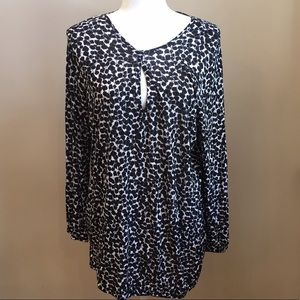 NWT Michael Kors Long Sleeve Blouse